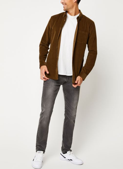 Vêtements Only & Sons Onsgeorg Shirt Marron vue bas / vue portée sac