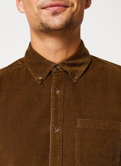 Vêtements Only & Sons Onsgeorg Shirt Marron vue face