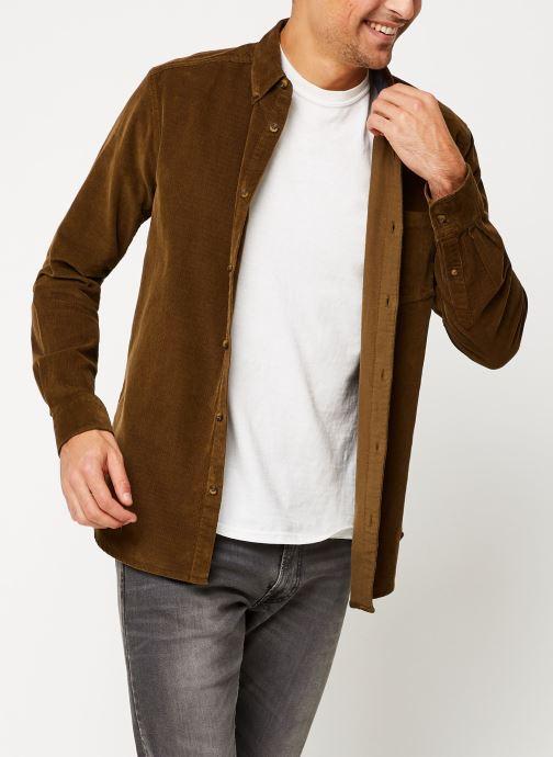 Vêtements Only & Sons Onsgeorg Shirt Marron vue détail/paire