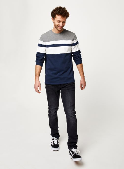 Vêtements Only & Sons Onsmdamie Sweat Bleu vue bas / vue portée sac