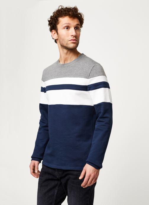 Vêtements Only & Sons Onsmdamie Sweat Bleu vue droite