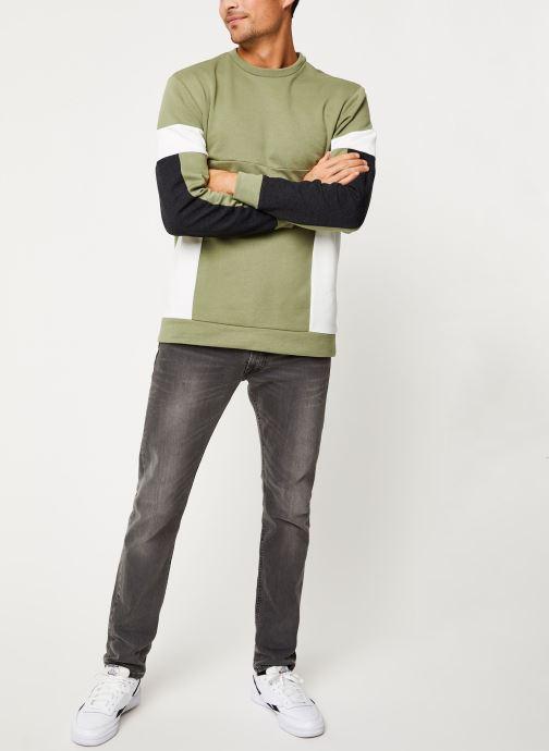 Vêtements Only & Sons Onsmdustin Sweat Vert vue bas / vue portée sac