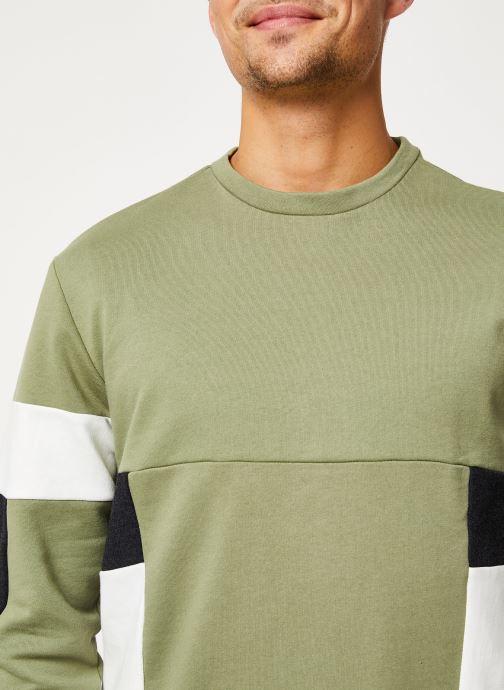 Vêtements Only & Sons Onsmdustin Sweat Vert vue face