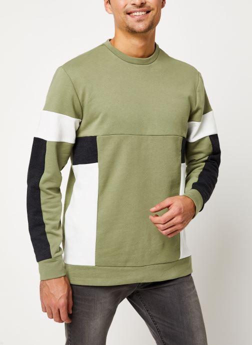 Vêtements Only & Sons Onsmdustin Sweat Vert vue détail/paire