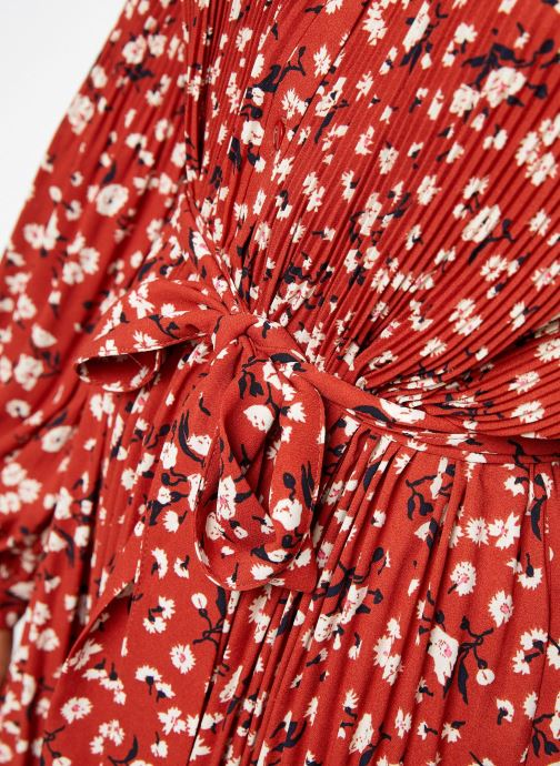 Vêtements Selected Femme Slfpoppy Dress Rouge vue face