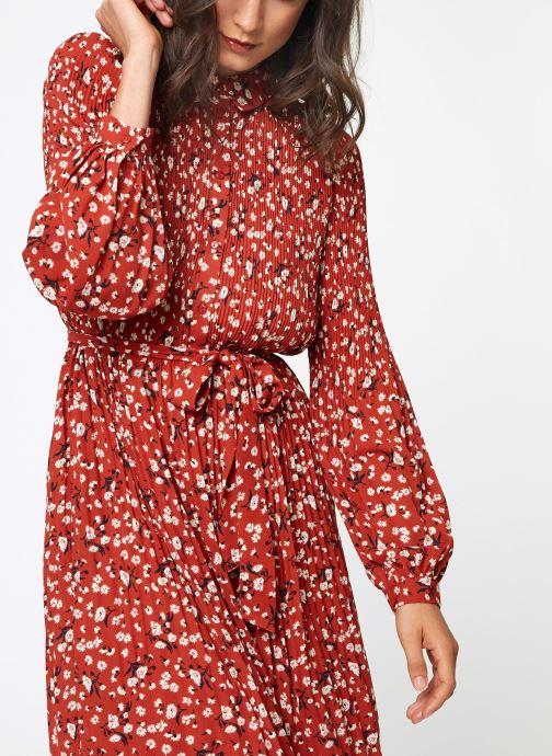 Vêtements Selected Femme Slfpoppy Dress Rouge vue droite