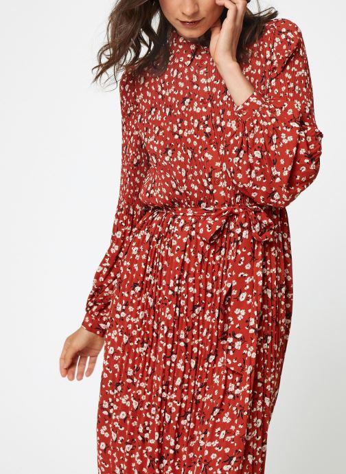 Vêtements Selected Femme Slfpoppy Dress Rouge vue détail/paire