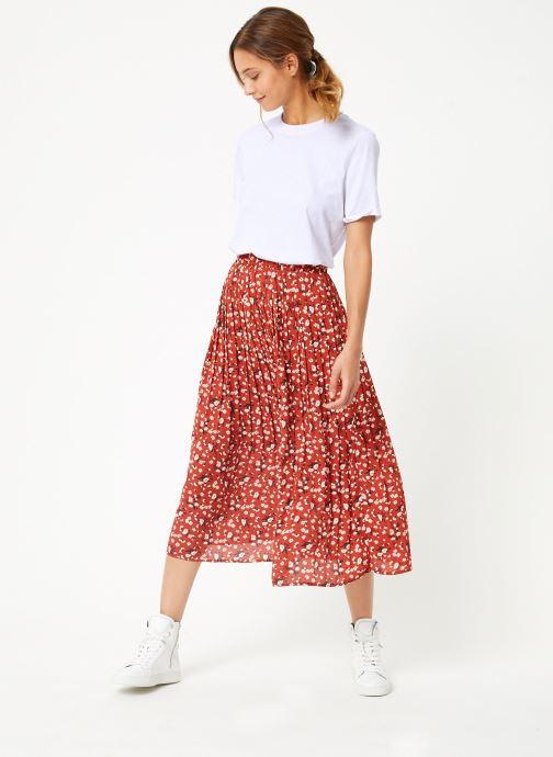 Vêtements Selected Femme Slfpoppy Skirt Marron vue bas / vue portée sac