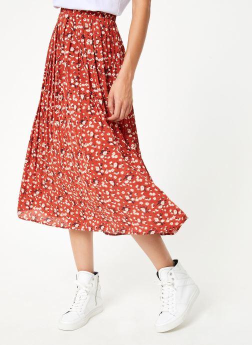 Vêtements Selected Femme Slfpoppy Skirt Marron vue détail/paire