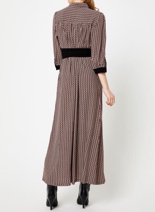 Vêtements Selected Femme Slfabigai Dress Noir vue portées chaussures