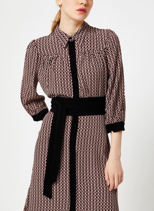 Vêtements Selected Femme Slfabigai Dress Noir vue droite