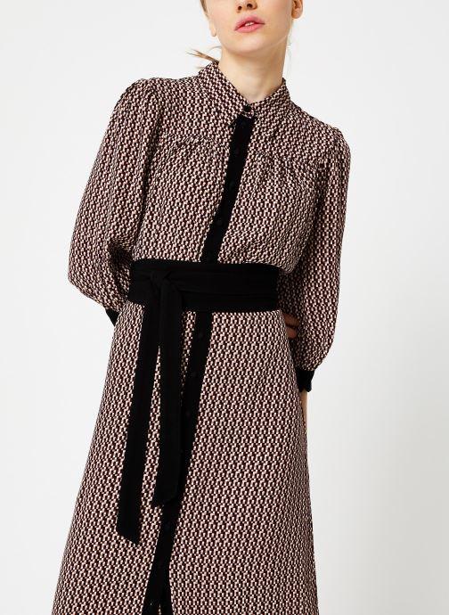 Vêtements Selected Femme Slfabigai Dress Noir vue détail/paire