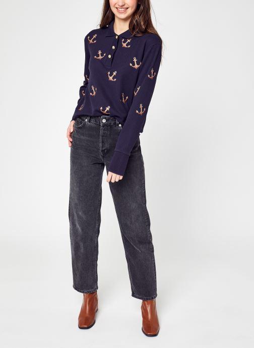 Vêtements Selected Femme Slfkate Pant Gris vue bas / vue portée sac