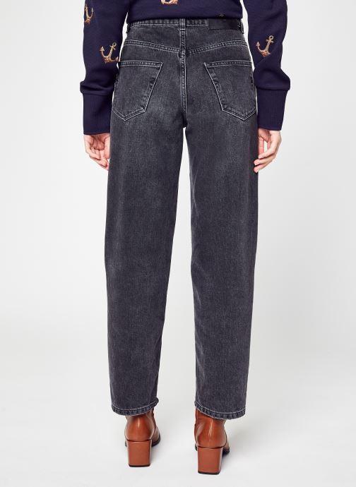 Vêtements Selected Femme Slfkate Pant Gris vue portées chaussures
