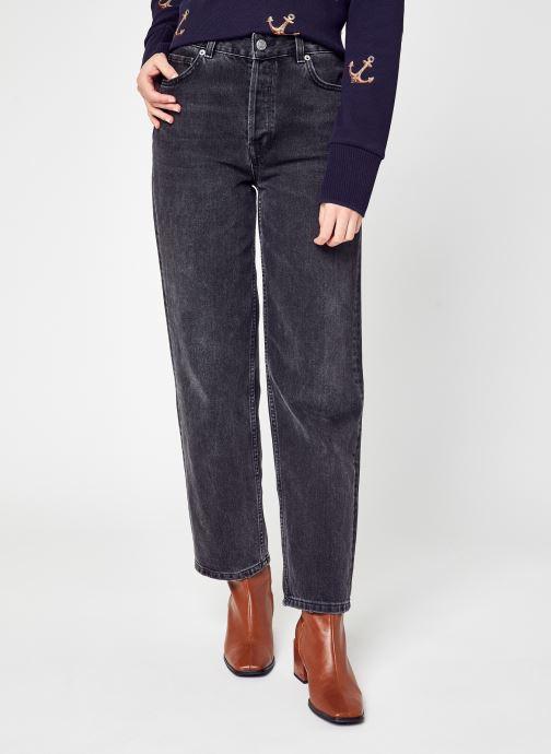 Vêtements Selected Femme Slfkate Pant Gris vue détail/paire