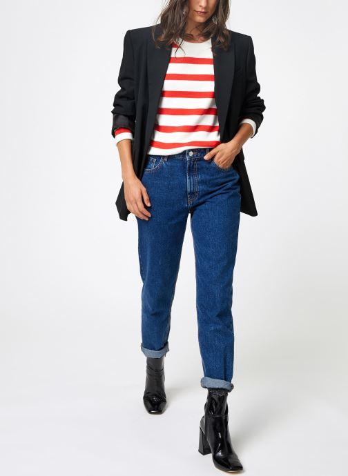 Vêtements Selected Femme Slfalina Knit Rouge vue bas / vue portée sac