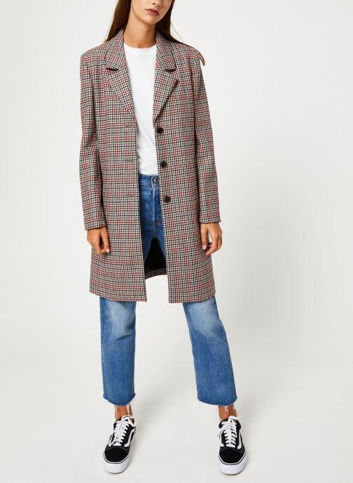 Vêtements Selected Femme Slfsasja Coat Rouge vue bas / vue portée sac