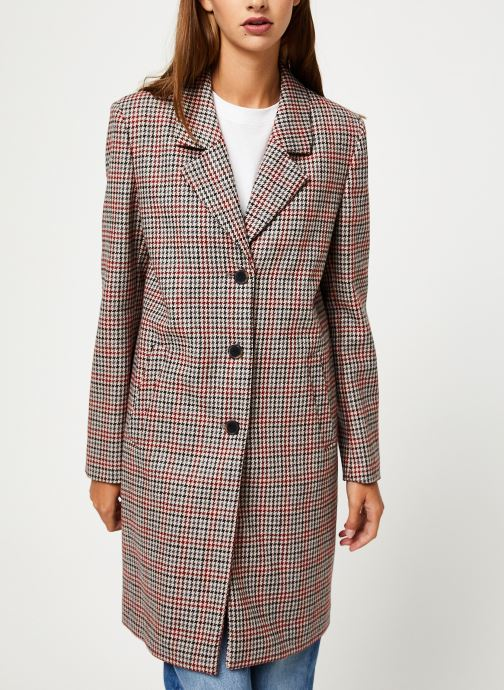 Vêtements Selected Femme Slfsasja Coat Rouge vue droite