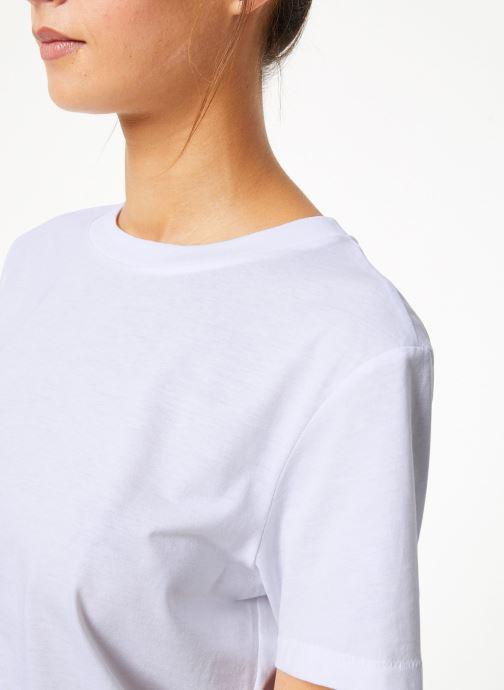 Vêtements Selected Femme Slfmy Tee Blanc vue face