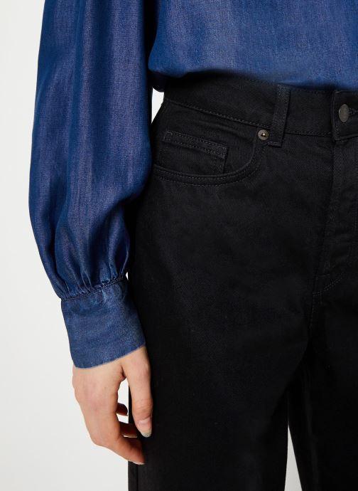 Vêtements Selected Femme Slfsusan Jeans Noir vue face