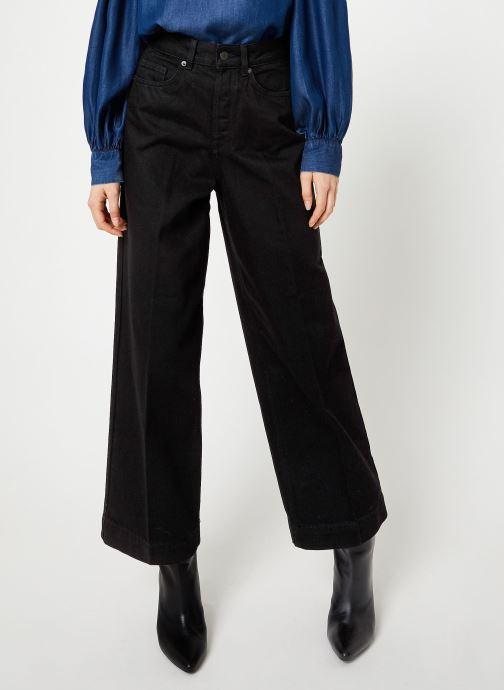 Vêtements Selected Femme Slfsusan Jeans Noir vue détail/paire
