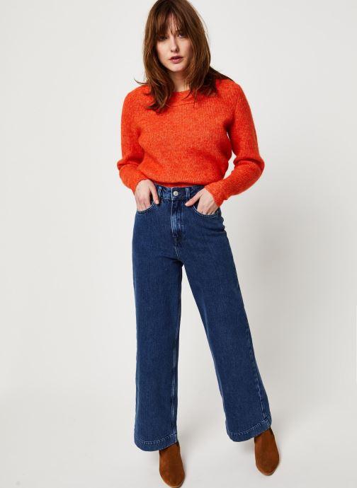 Vêtements Selected Femme Slfsusan Jeans Bleu vue bas / vue portée sac