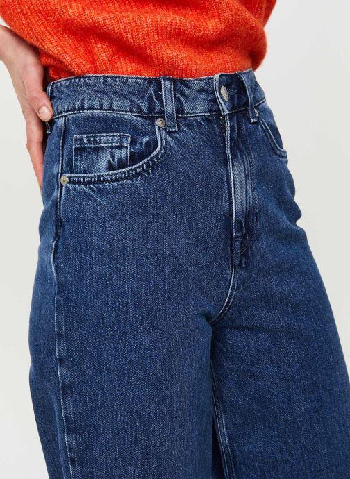Vêtements Selected Femme Slfsusan Jeans Bleu vue face
