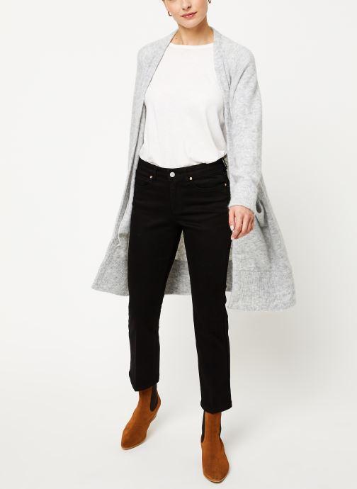 Vêtements Selected Femme Slflanna Knit Cardigan Gris vue bas / vue portée sac
