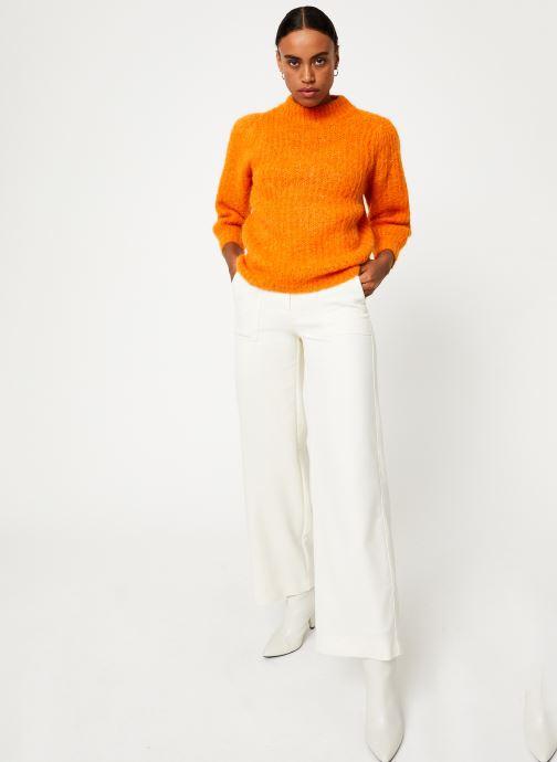 Vêtements Selected Femme Slfpippa Knit Orange vue bas / vue portée sac