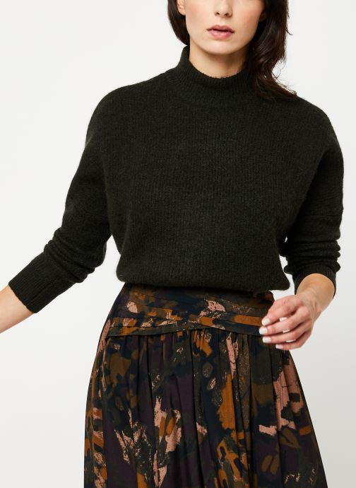 Vêtements Selected Femme Slfenica Knit Gris vue détail/paire