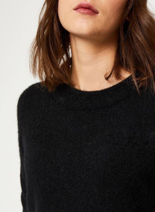 Vêtements Selected Femme Slfsia Knit Noir vue face