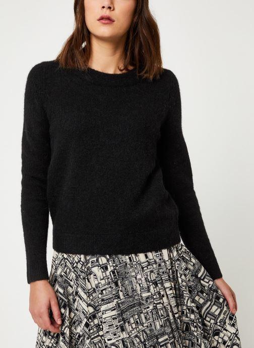 Vêtements Selected Femme Slfsia Knit Noir vue droite