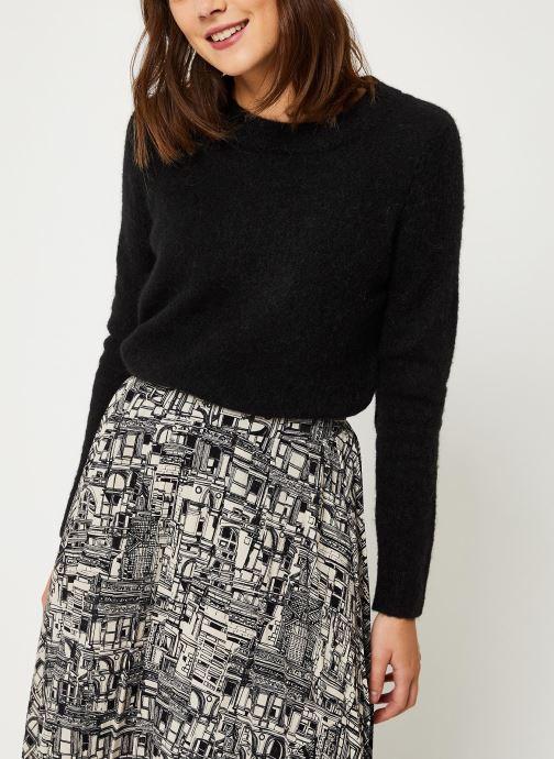 Vêtements Selected Femme Slfsia Knit Noir vue détail/paire
