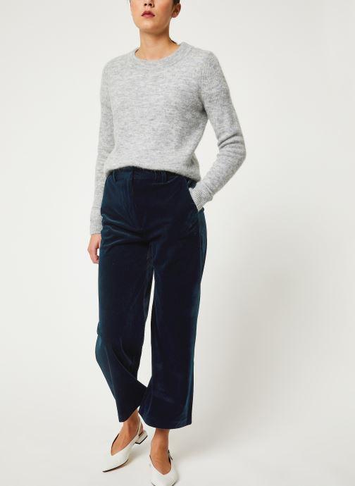 Vêtements Selected Femme Slfsia Knit Gris vue bas / vue portée sac
