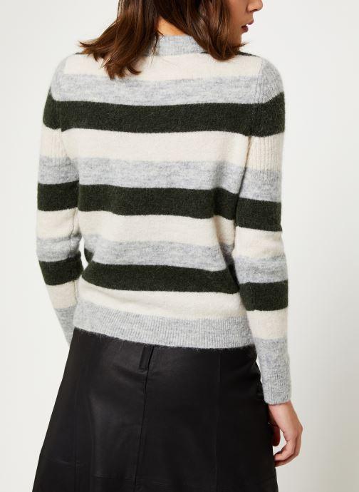 Vêtements Selected Femme Slfsia Knit Vert vue portées chaussures