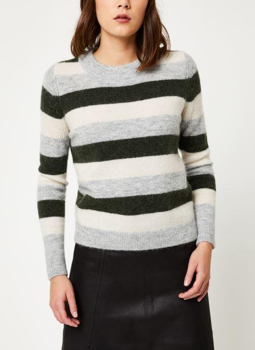 Vêtements Selected Femme Slfsia Knit Vert vue droite