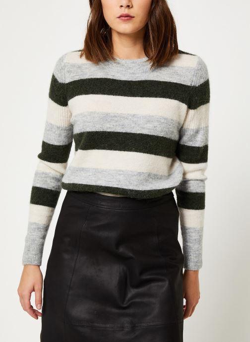 Vêtements Selected Femme Slfsia Knit Vert vue détail/paire