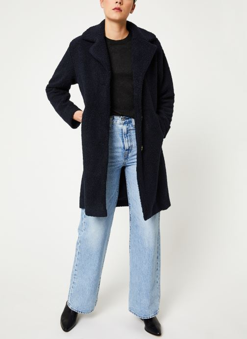 Vêtements Selected Femme Slfnanna Coat Bleu vue bas / vue portée sac