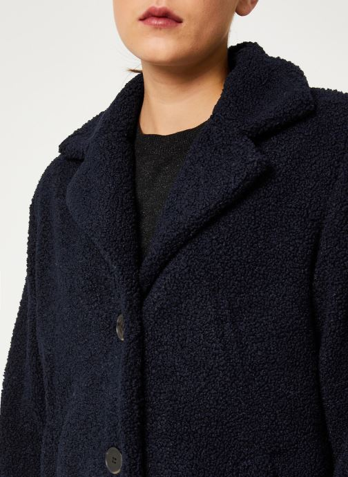 Vêtements Selected Femme Slfnanna Coat Bleu vue face