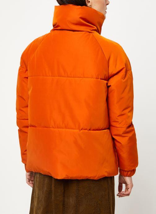 Vêtements Selected Femme Slfmona Jacket Orange vue portées chaussures