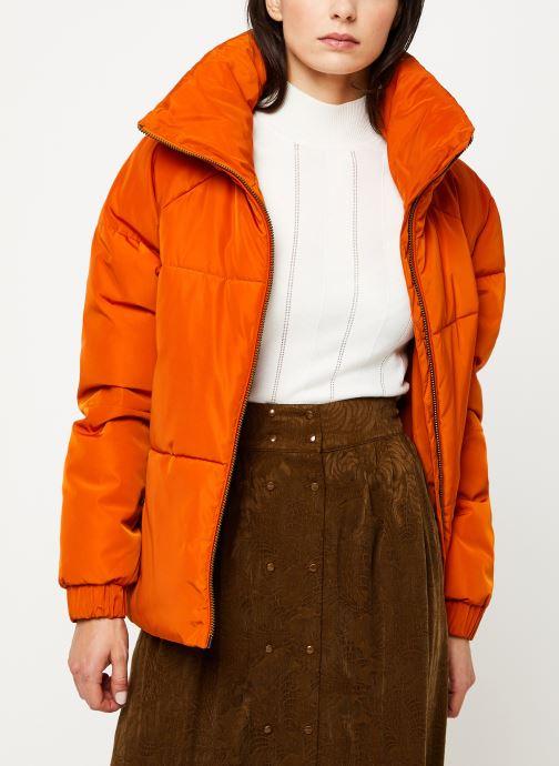 Vêtements Selected Femme Slfmona Jacket Orange vue détail/paire