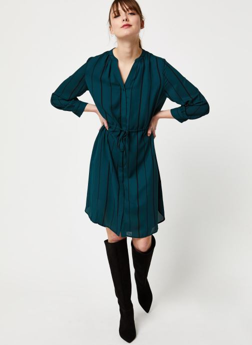 Vêtements Selected Femme Slfdamina Dress Bleu vue bas / vue portée sac