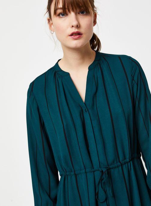 Vêtements Selected Femme Slfdamina Dress Bleu vue face