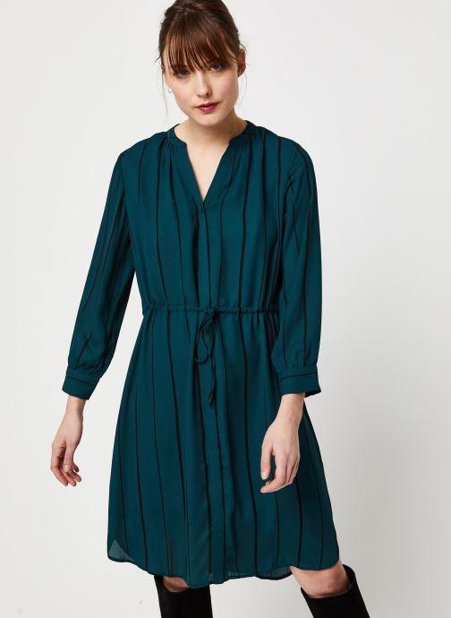 Vêtements Selected Femme Slfdamina Dress Bleu vue droite