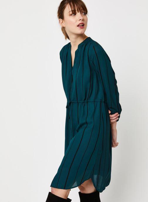 Vêtements Selected Femme Slfdamina Dress Bleu vue détail/paire