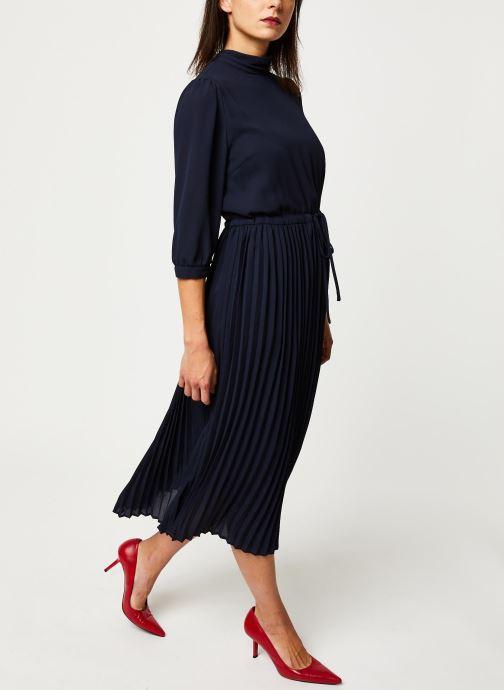 Vêtements Selected Femme Slfbethany Midi Dress Bleu vue bas / vue portée sac
