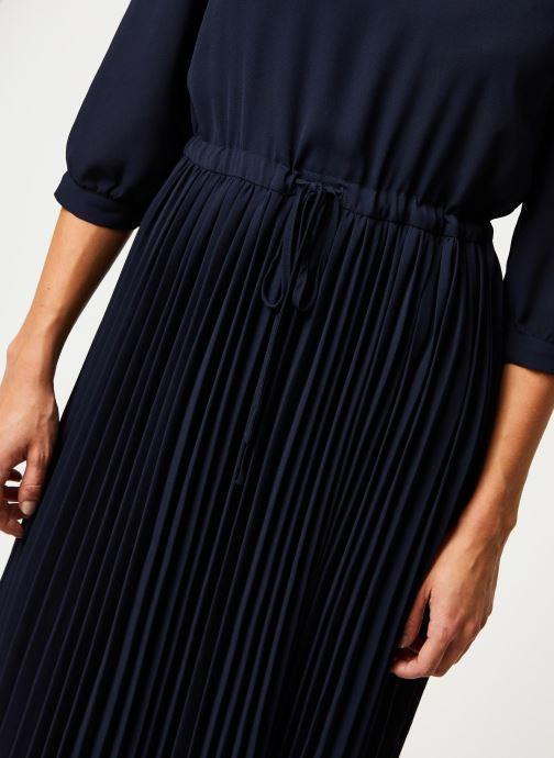 Vêtements Selected Femme Slfbethany Midi Dress Bleu vue face