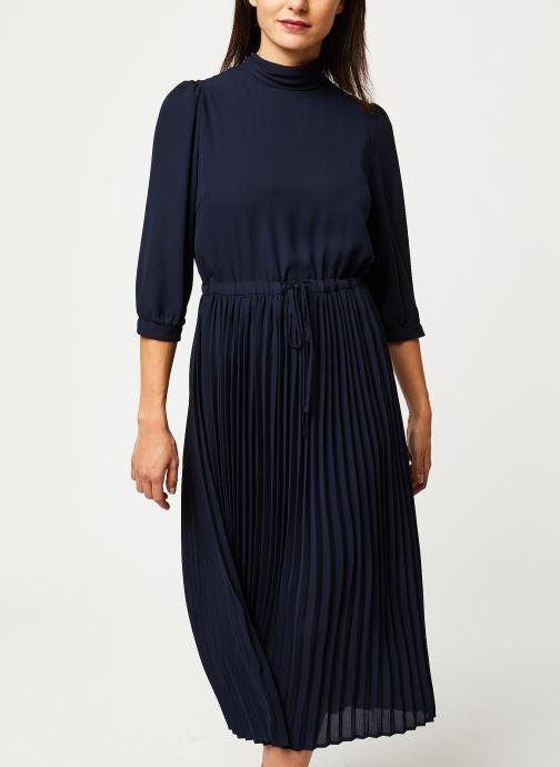 Vêtements Selected Femme Slfbethany Midi Dress Bleu vue détail/paire