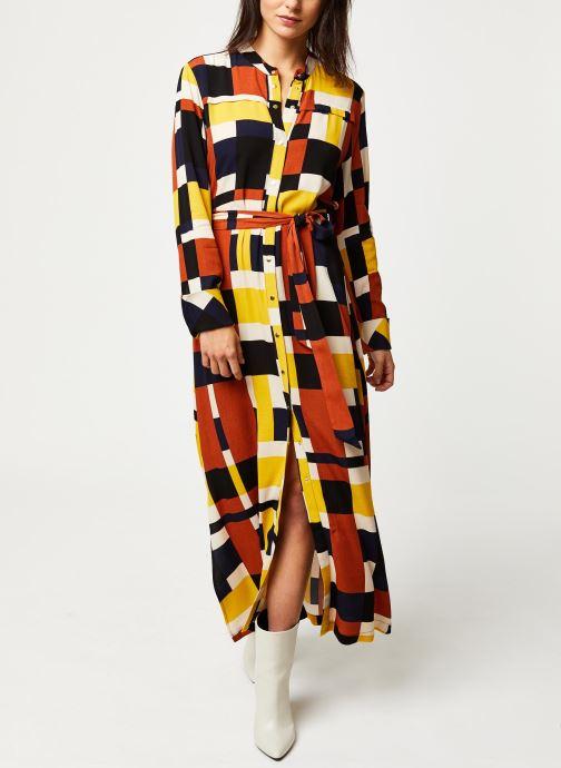 Vêtements Selected Femme Slfhadley Dress Marron vue bas / vue portée sac