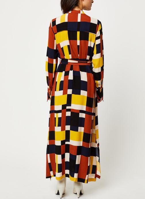 Vêtements Selected Femme Slfhadley Dress Marron vue portées chaussures